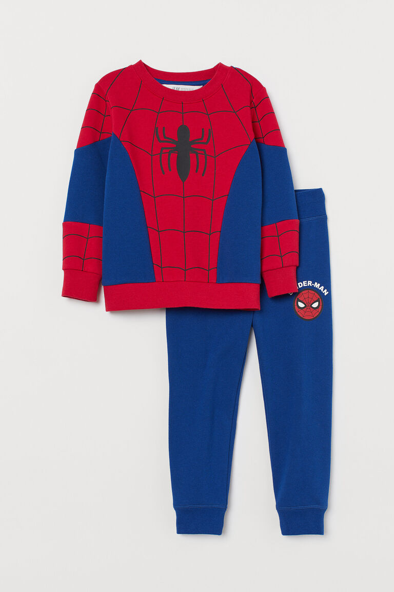 H/&M Brand high qaulity Boy/'s Long sleeve Spider man T-shirt Tops size 3//4 NEW
